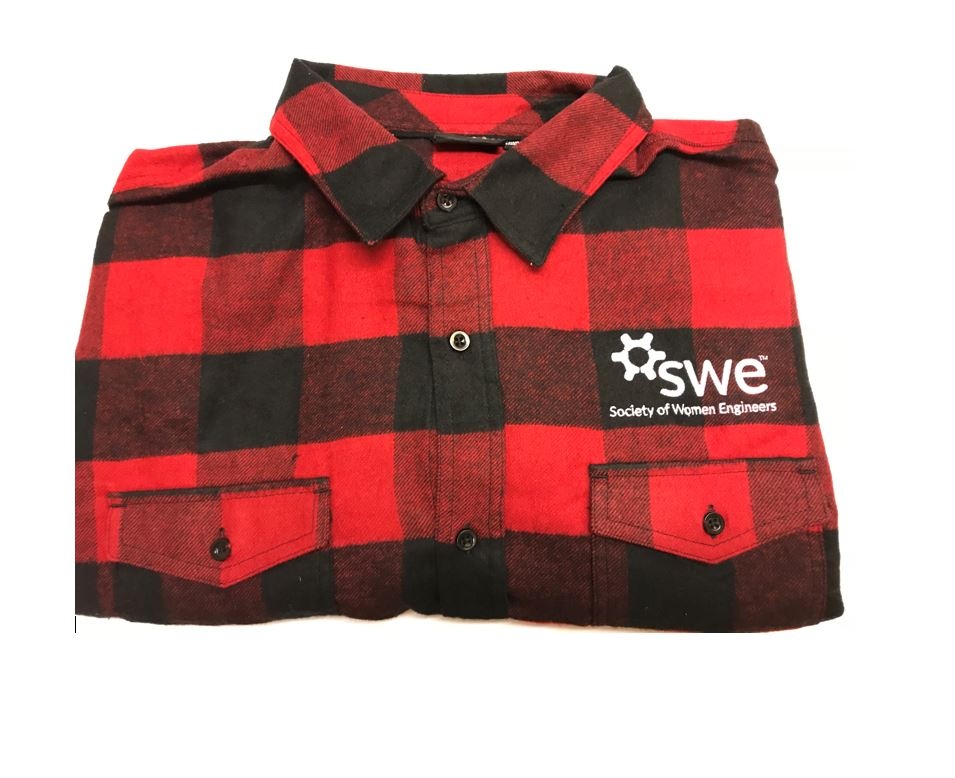 Flannel with SWE logo only    MTU Student Price: $30    Non-Student Price: $40
