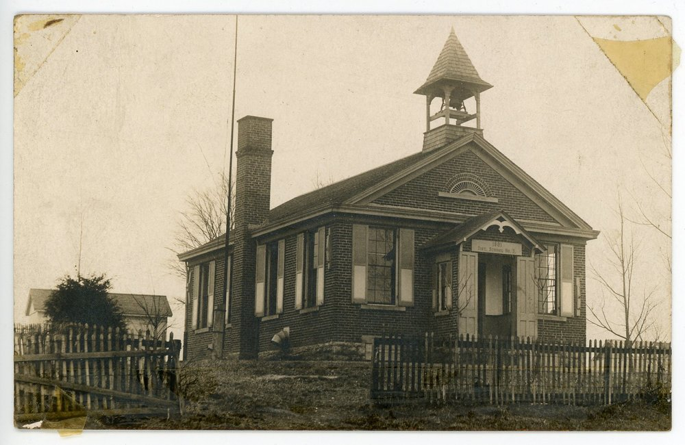 Myers Schoolhouse, constructed in 1891. All rights reserved: Delhi Historical Society