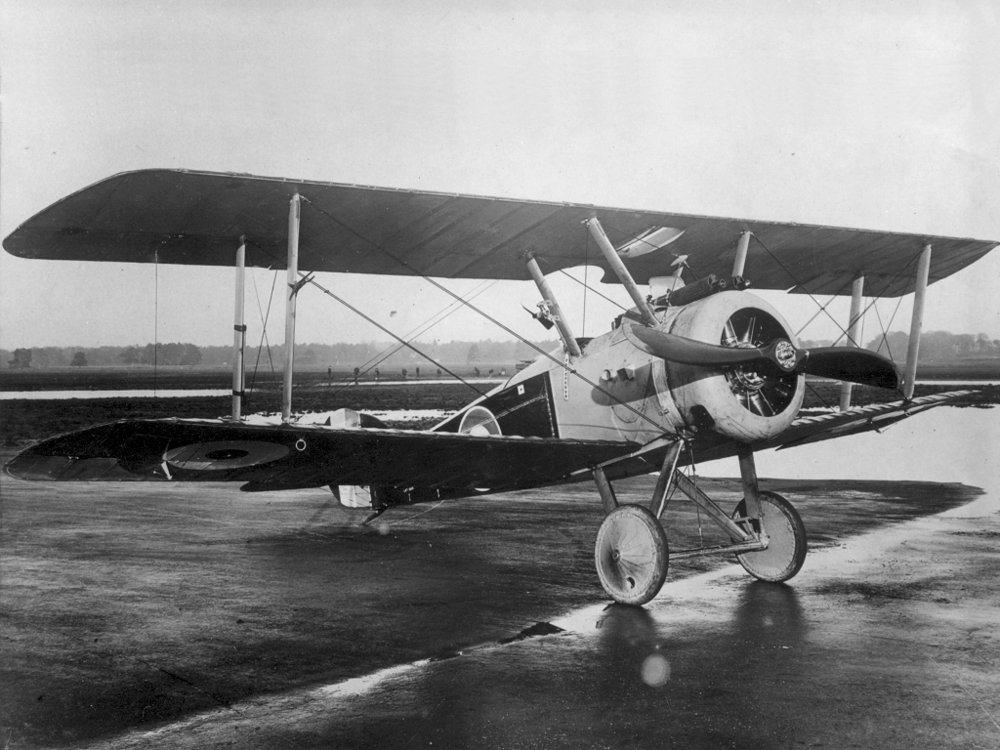 Example of a Sopwith Camel.