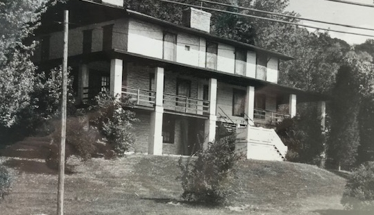 Darby House on River Road, photo courtesy of the Delhi Historical Society, all rights reserved.