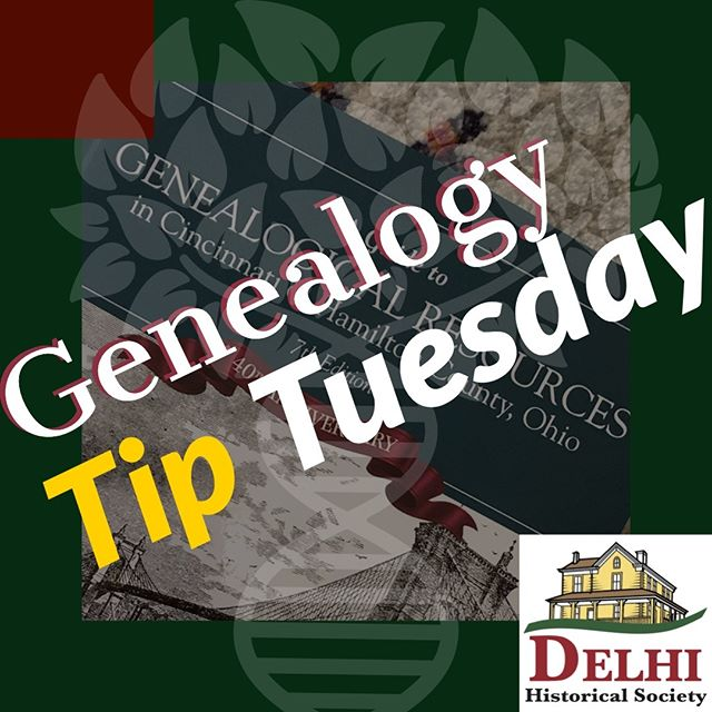The Hamilton County Genealogical Society has a guide to genealogical resources in Hamilton County, OH. If you find yourself stuck in your research this resource might spark some new ideas! Purchase here:  http://ow.ly/xWXb50kgZW0  #tiptuesday #genealogy #Cincinnati #Cincy #family
