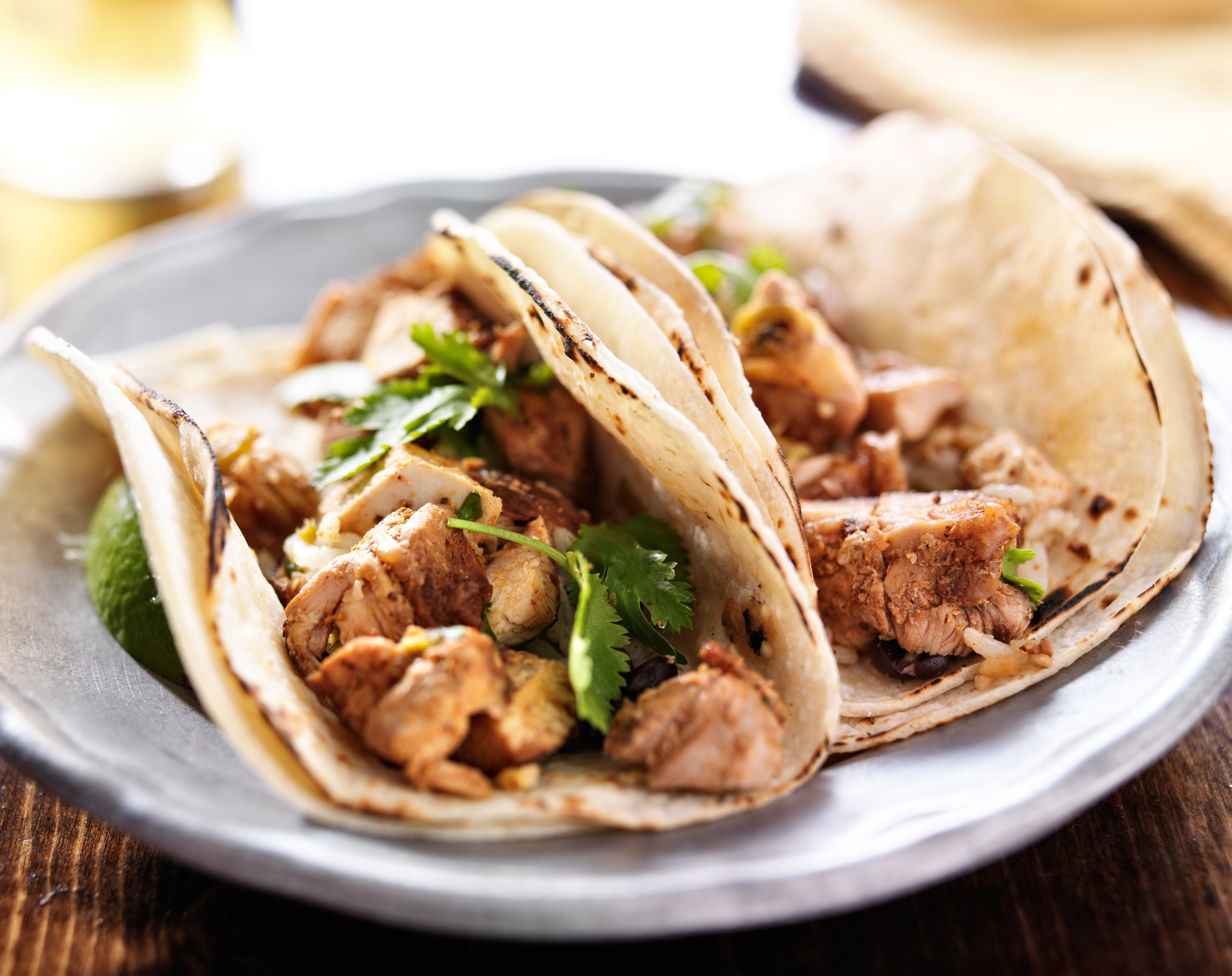 Grilled Chicken Tacos - DTG Image