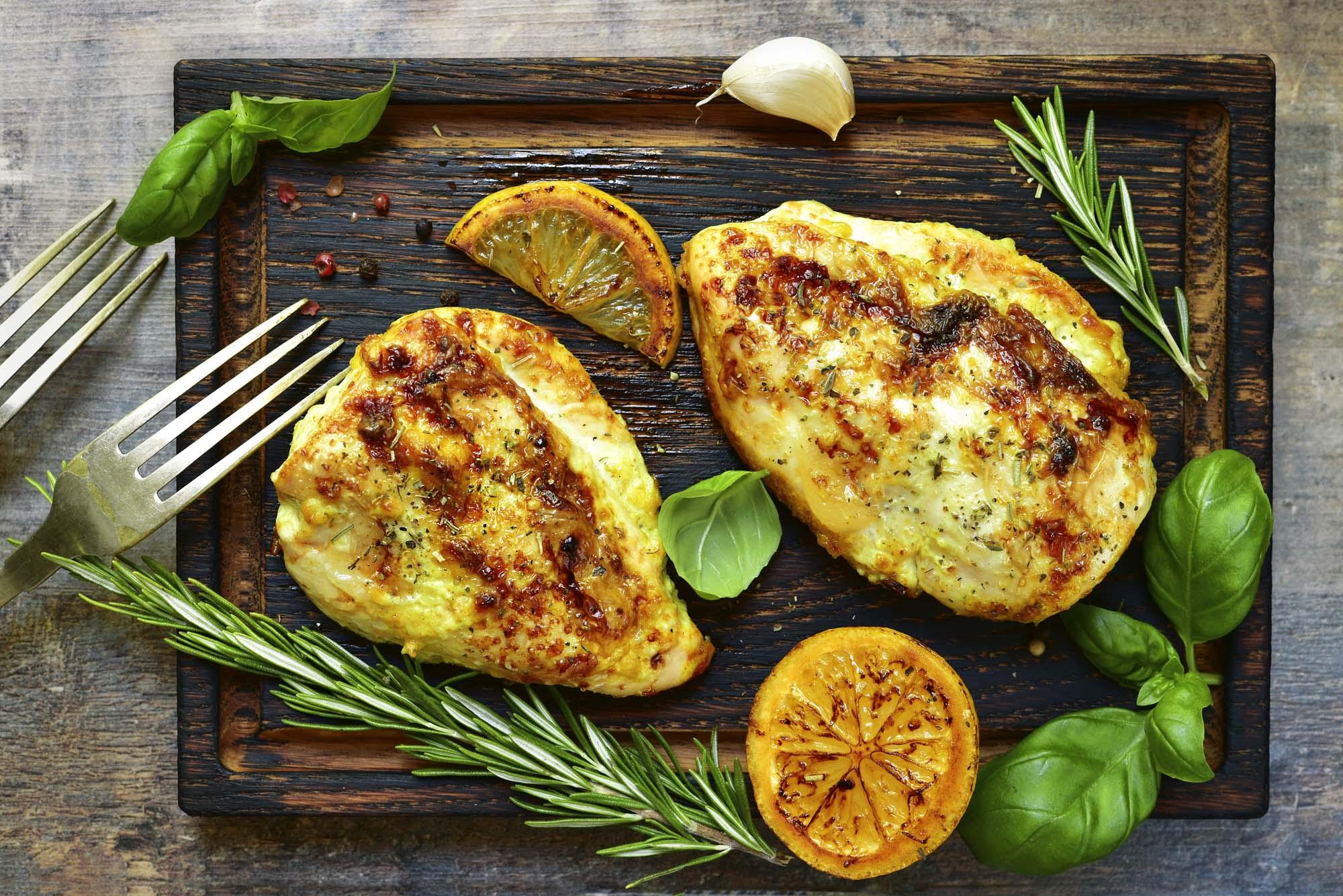 Lemon Herb Grilled Chicken - DTG