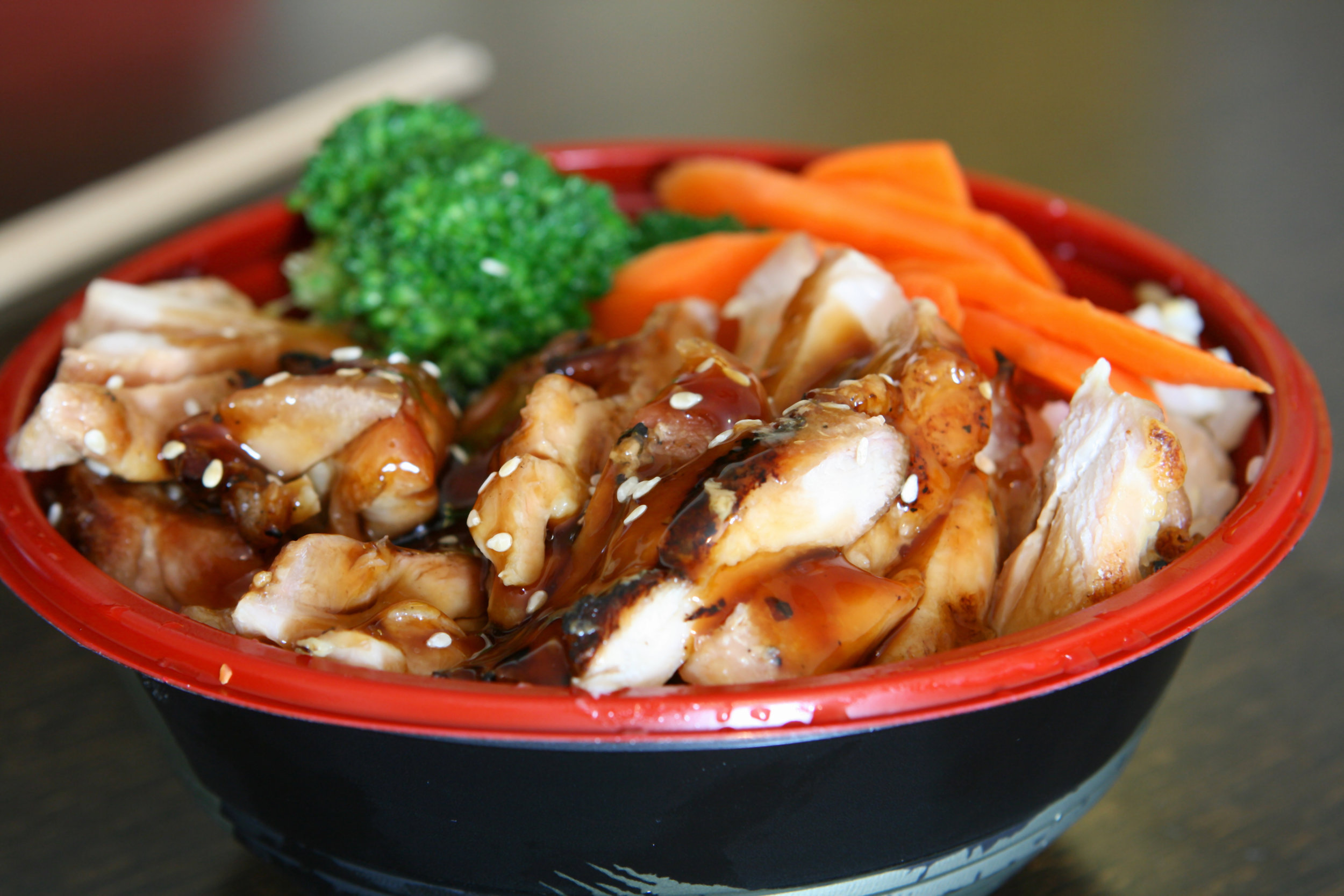 Tamari Ginger Chicken Bowls - DTG