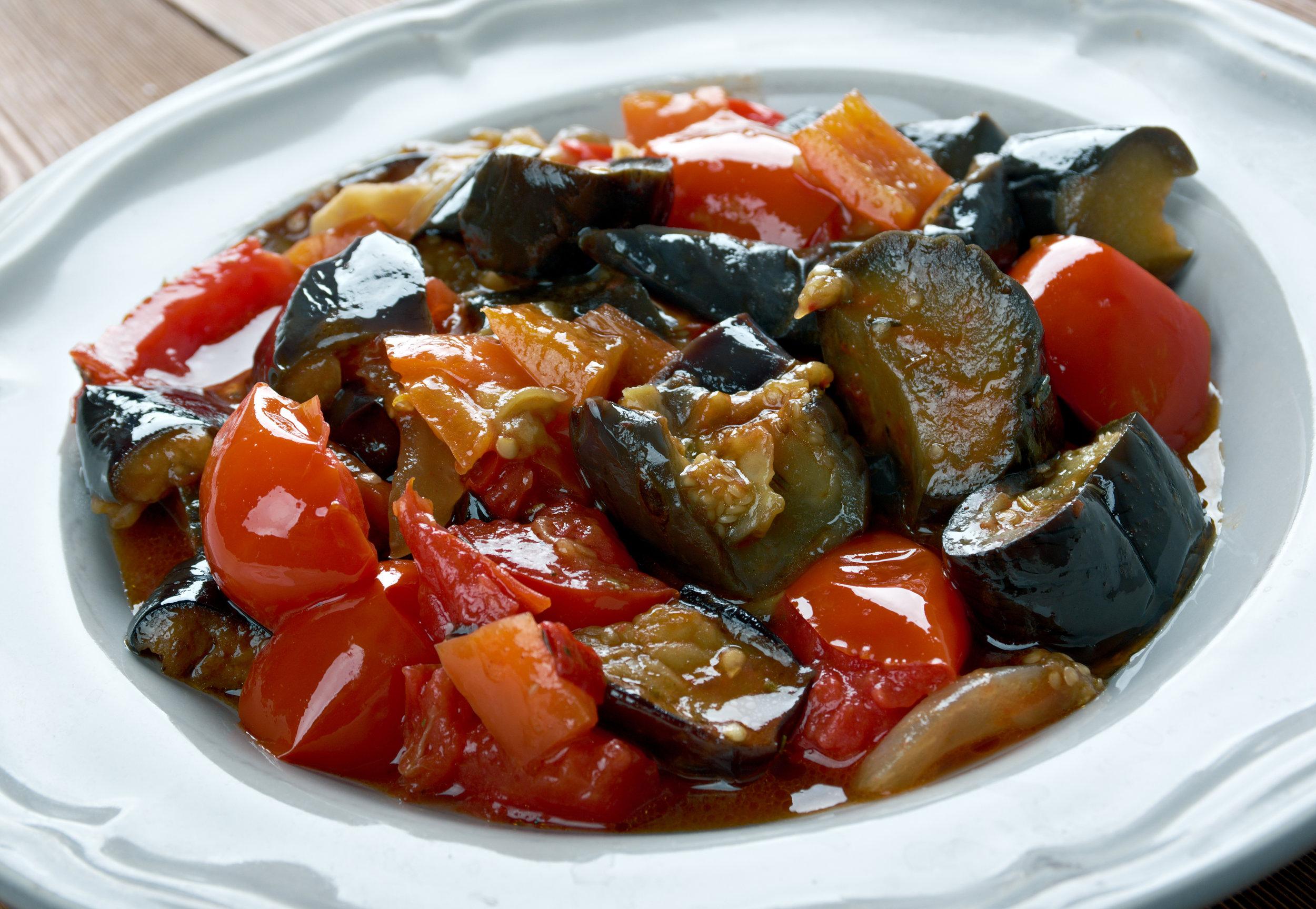 Tomato Eggplant Curry - DTG Image