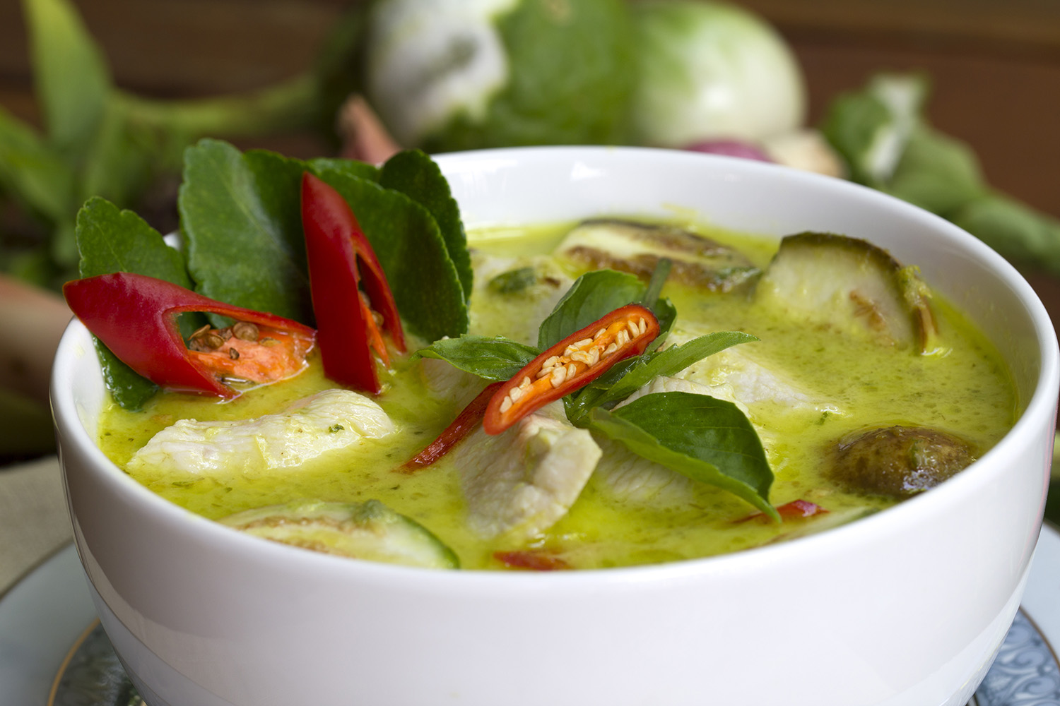 Thai Green Chicken Curry - DTG Image