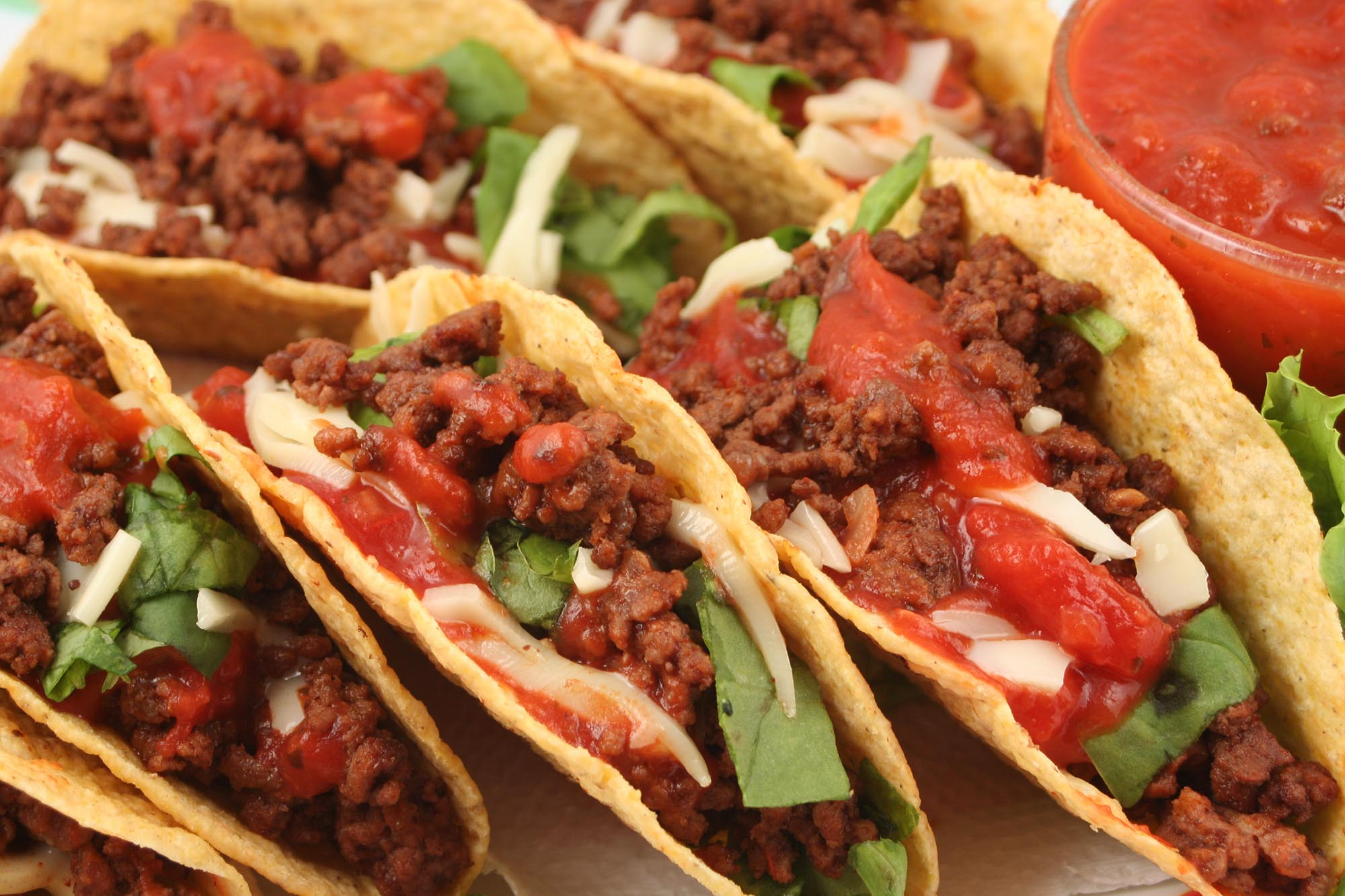 South Of The Border Beef Tacos - DTG