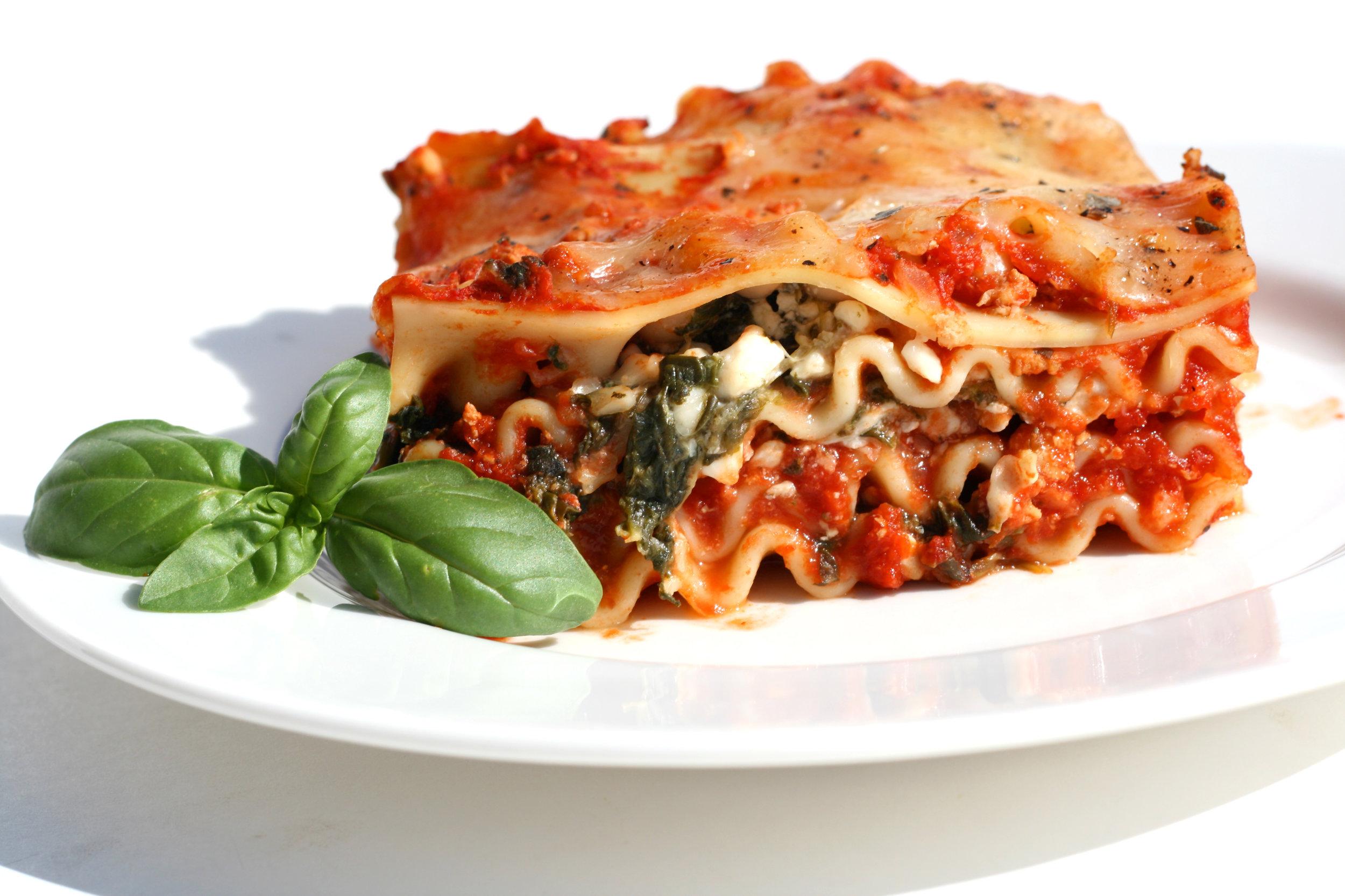 Roasted Vegetable Lasagna - DTG