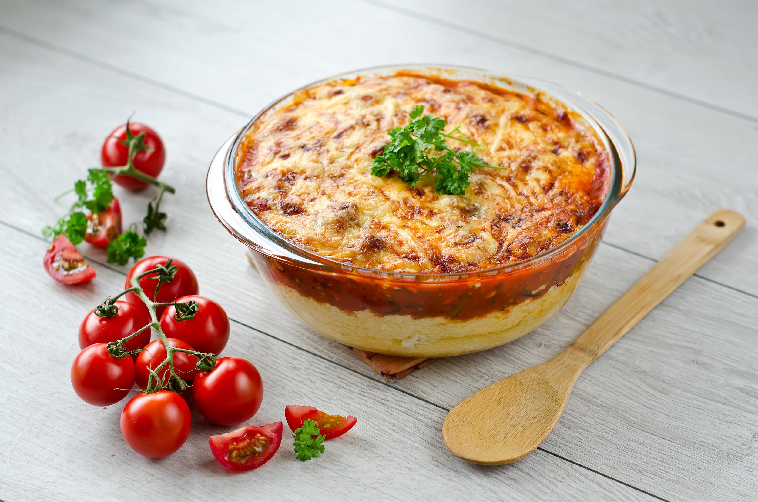 Bolognaise Polenta Pie - DTG