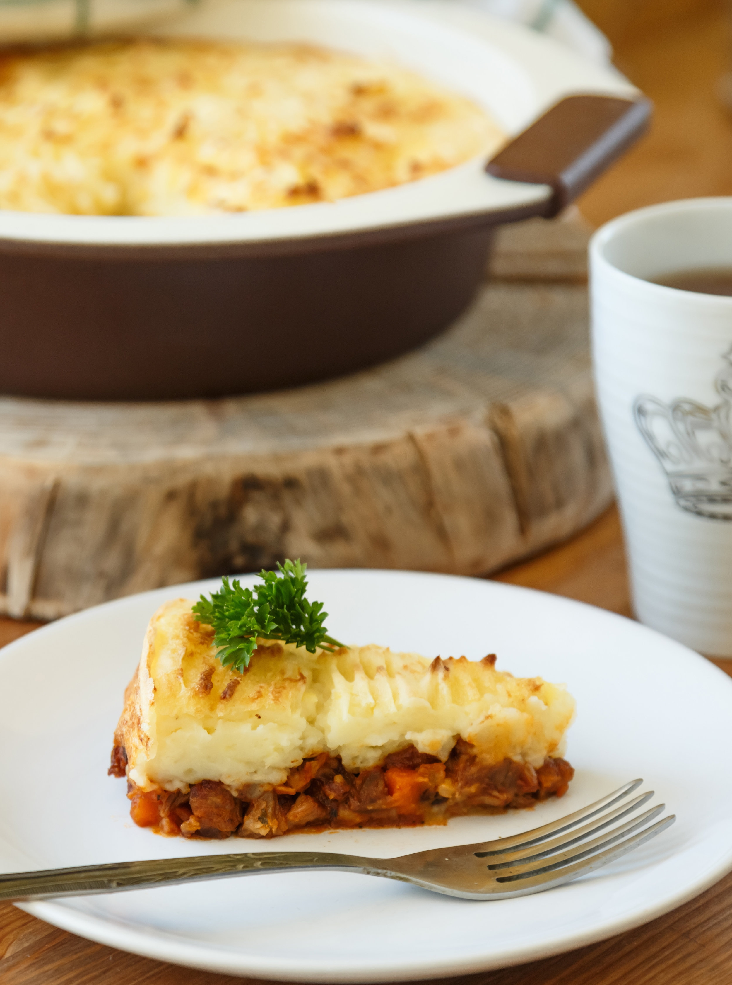 Local Grass Fed Beef Cottage Pie - DTG