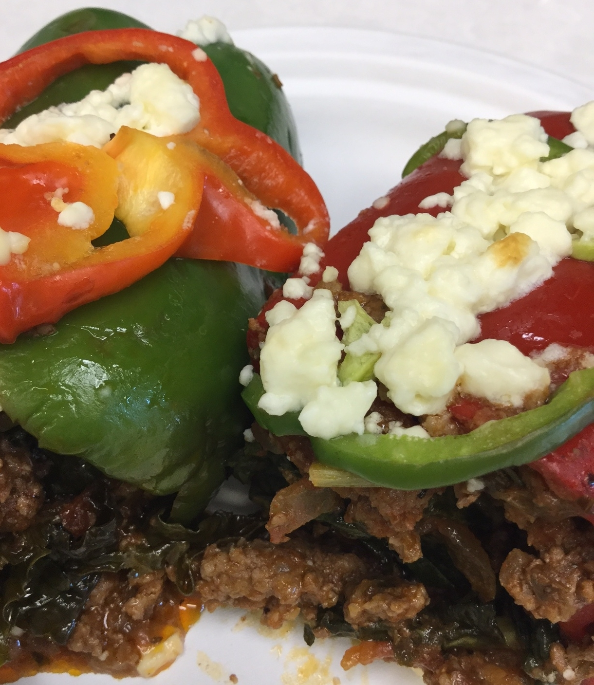 Sloppy Joe Stuffed Pepper - DTG