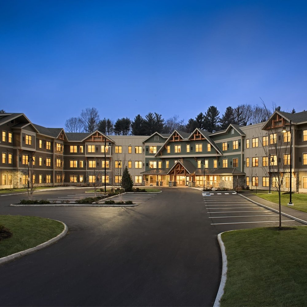 Stroudwater Lodge Senior Living   Westbrook, Maine 90,848 sqft Senior Living Facility Procon Construction Gawron Turgeon Architects