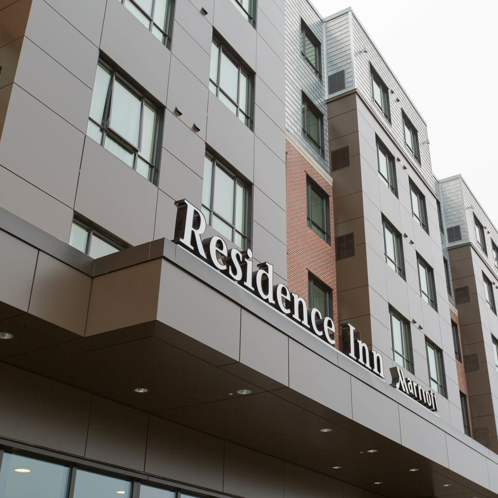Residence Inn Braintree   Braintree, Massachusetts Hotel Project 140 Rooms - 6 Stories Contractor: Dellbrook