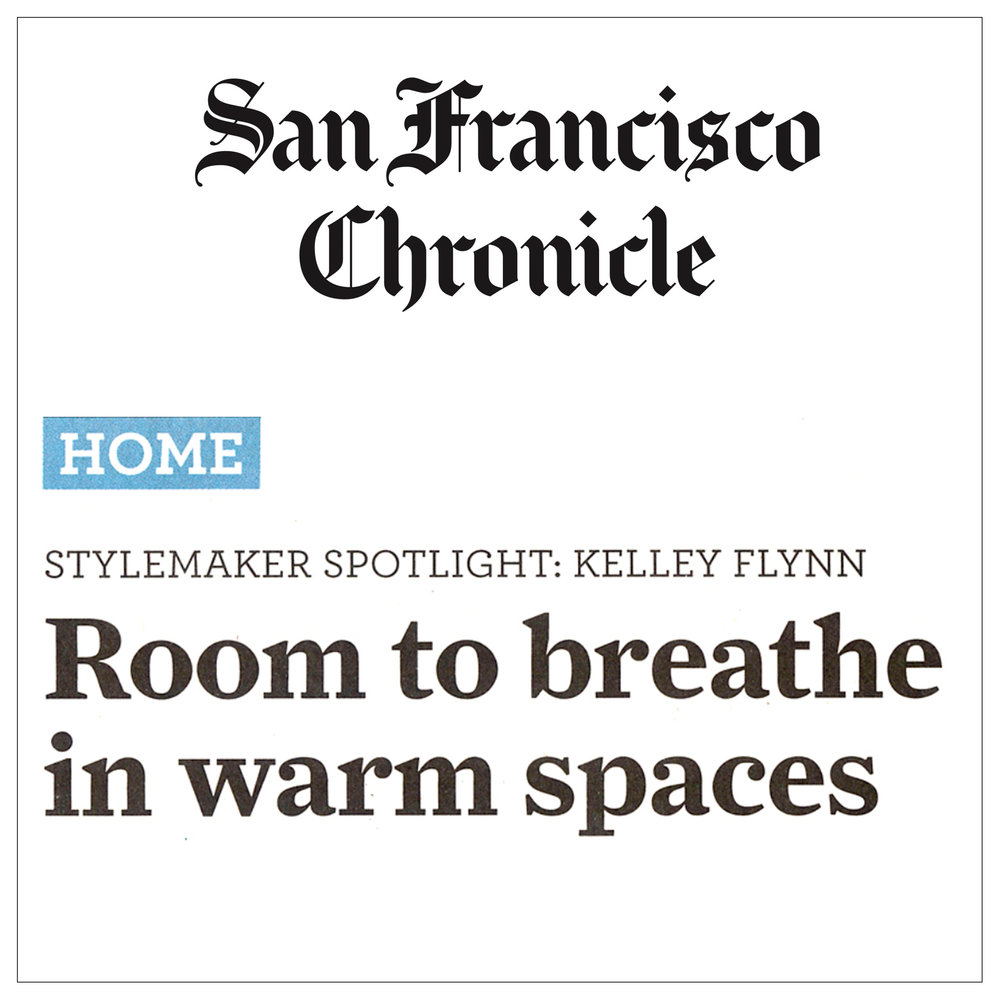 San Francisco Chronicle   2013   Style Maker Spotlight: Kelley Flynn