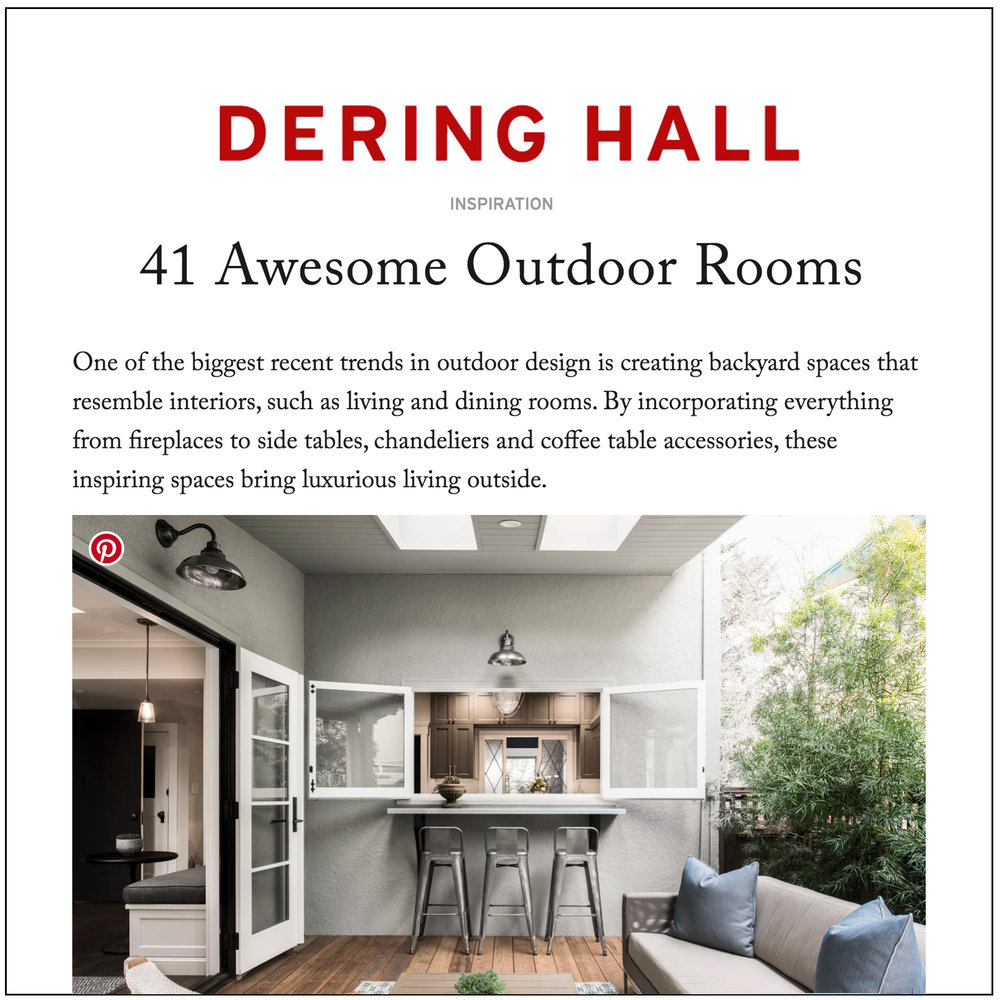 Dering Hall   2018   41 Awesome Outdoor Rooms