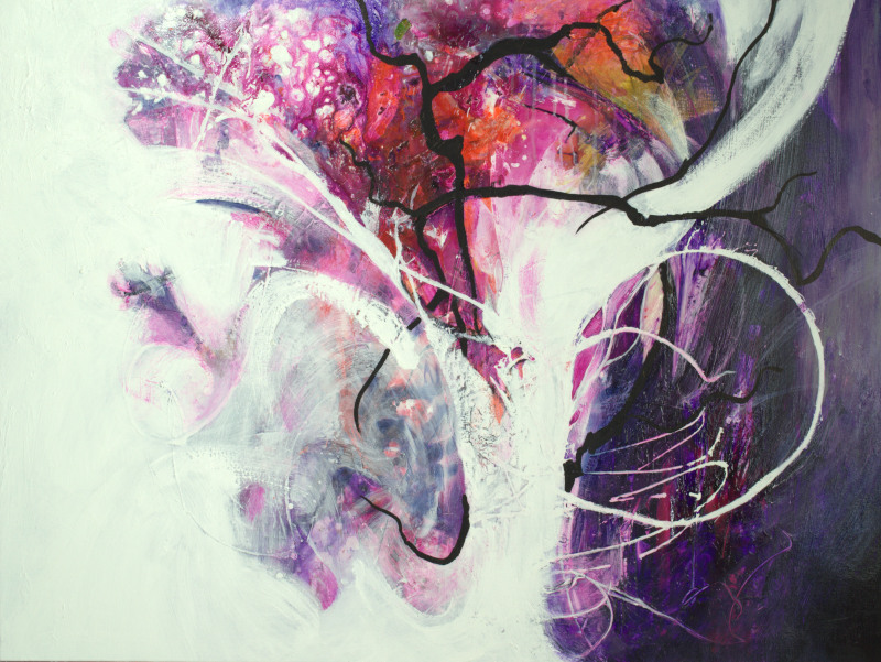 Enchanted Forest II - 48x36 - sold
