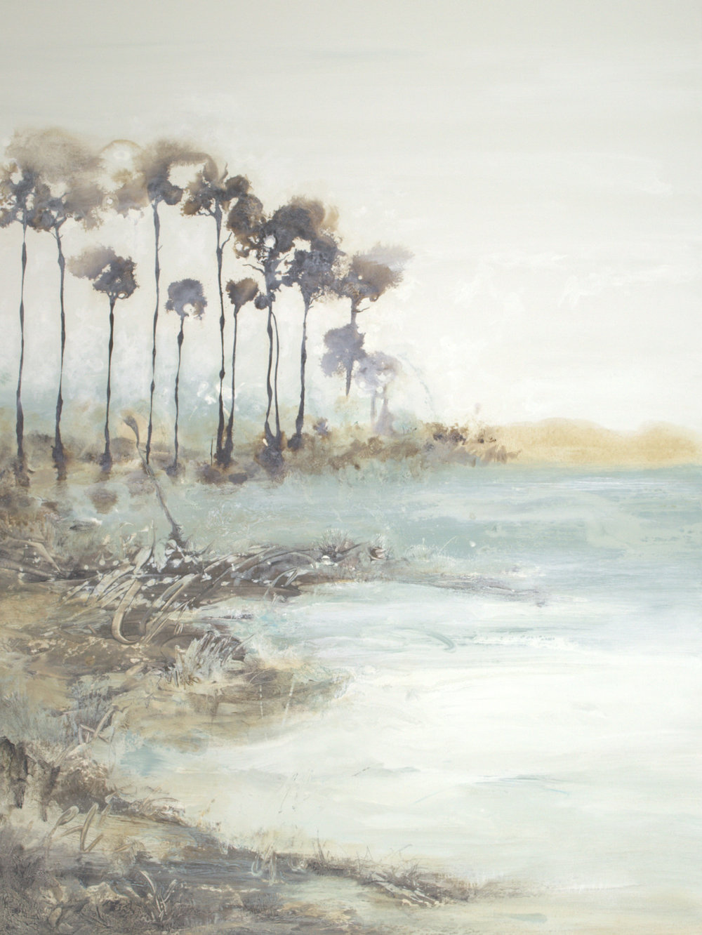 Coastal Fog - 48x36 - sold