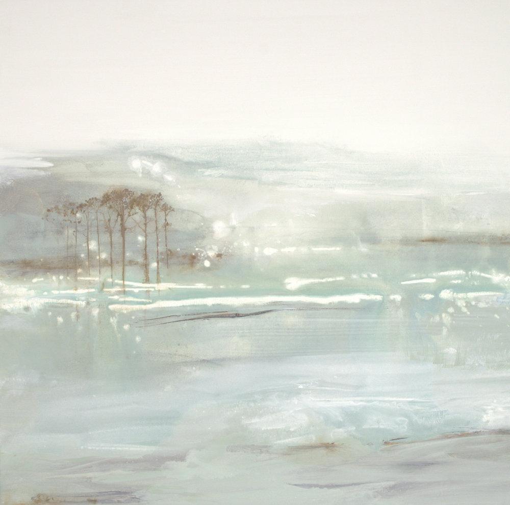 Coastal Aura - 36 x 36