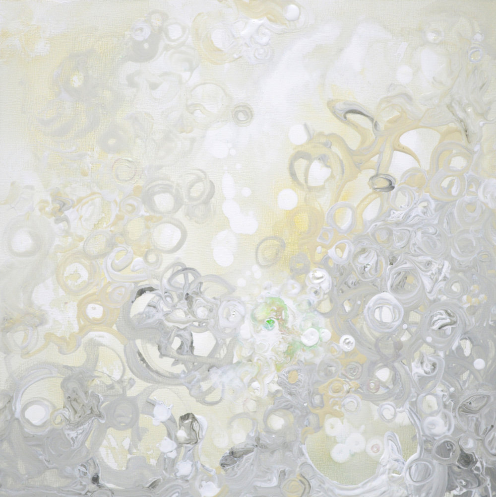 Champagne Bubbles II - 12x12 - available