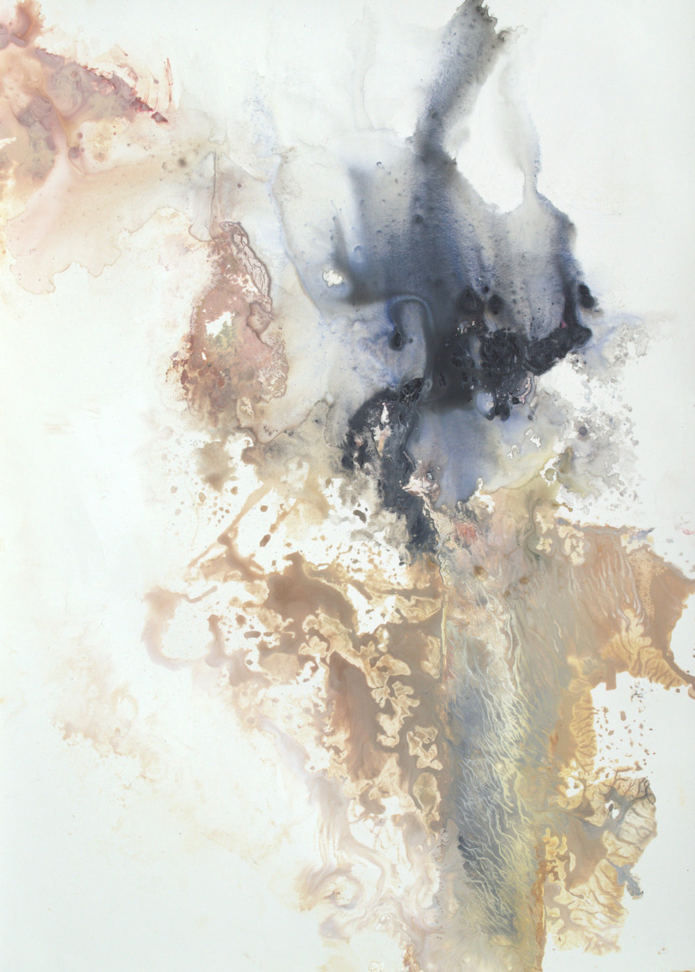 Abstract Organic Contrmporary IV - 12x9