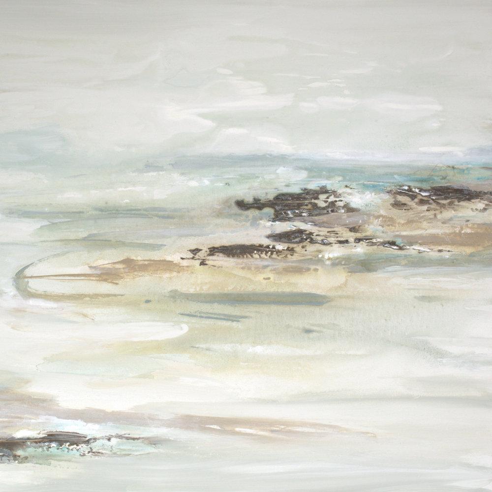 Coastal Impressionism III - 36x36 - sold