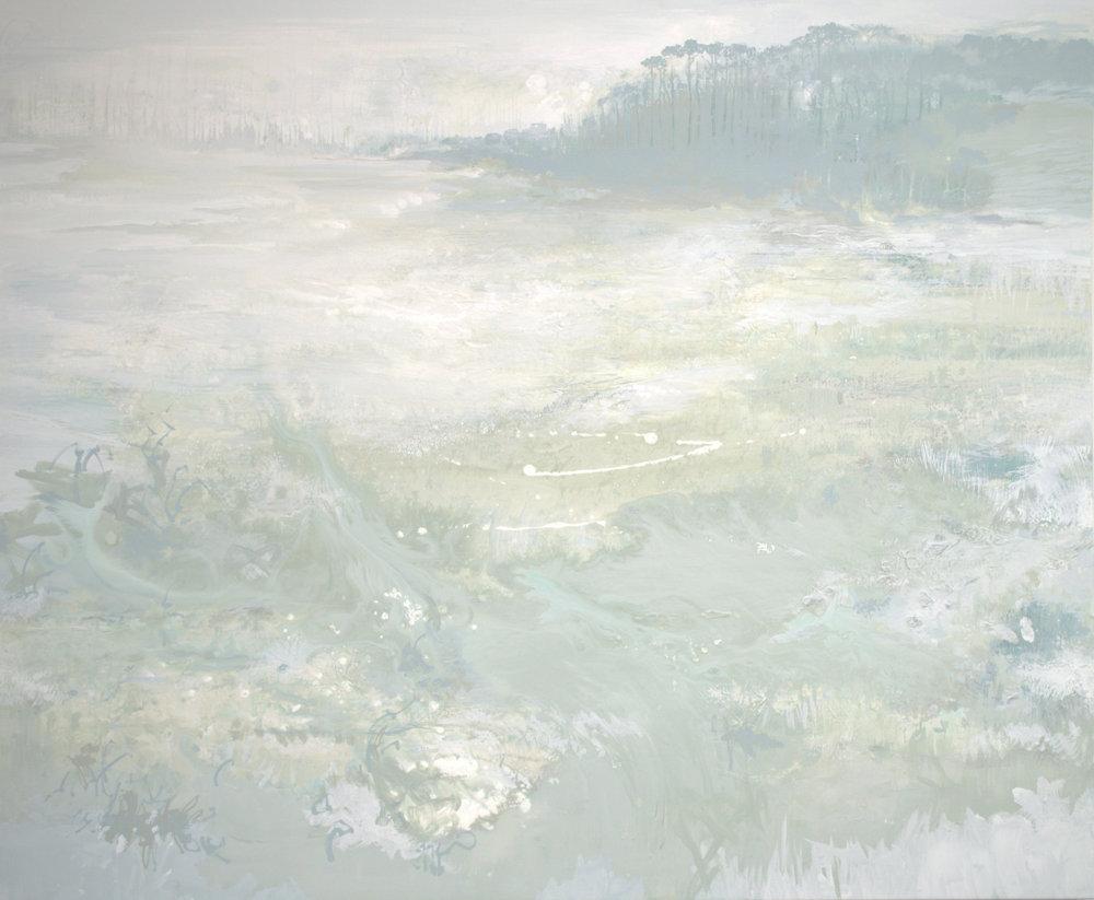 Coastal Allure at Dawn - 46 x 56