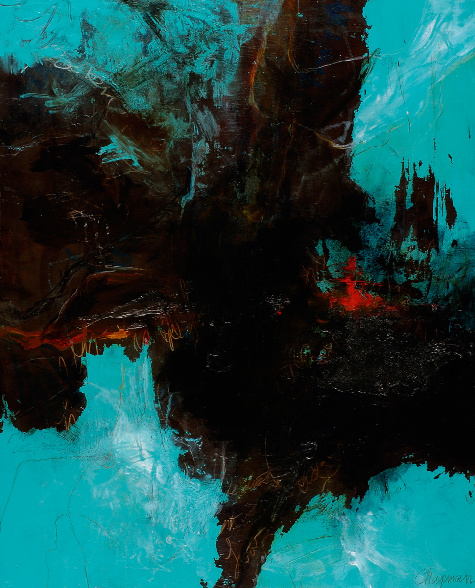 Teal Transition - 41x34 - available