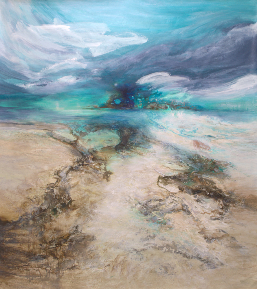 Paradise Found - 66 x 58 - available