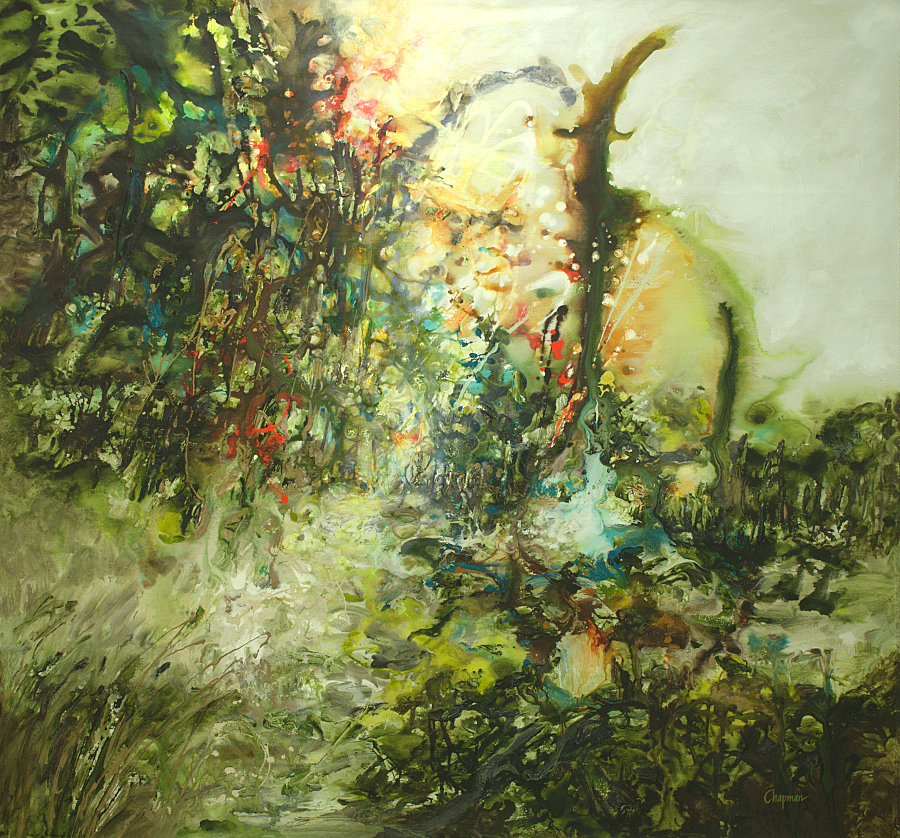 Joyous Dawn - 65x64 - available
