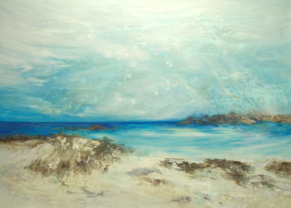 Return to Paradise - 58 x 80 - available