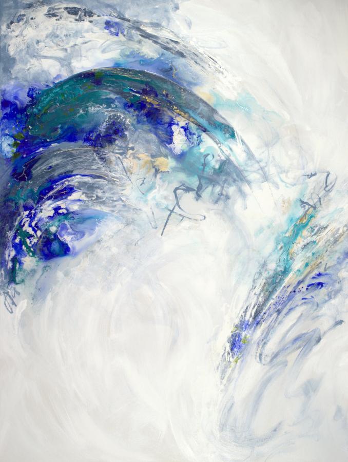 Aquatic Heights - 48 x 36