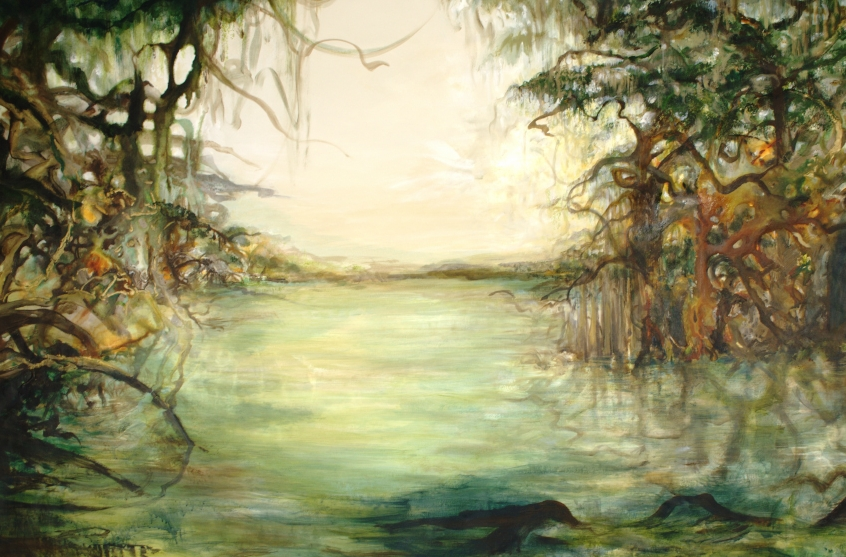 Rhythm of the Tides - 48 x 72