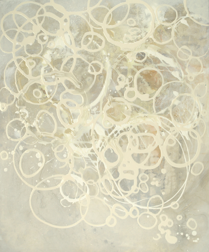 Champagne Bubbles I - 24x20 - available