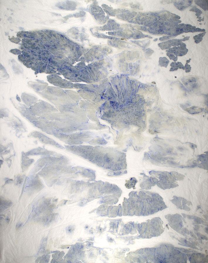 Blue Island Textures - 39 x 30
