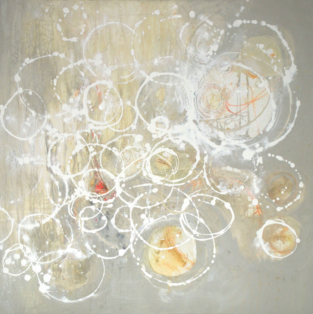 Champagne Soiree II - 36 x 36 - available