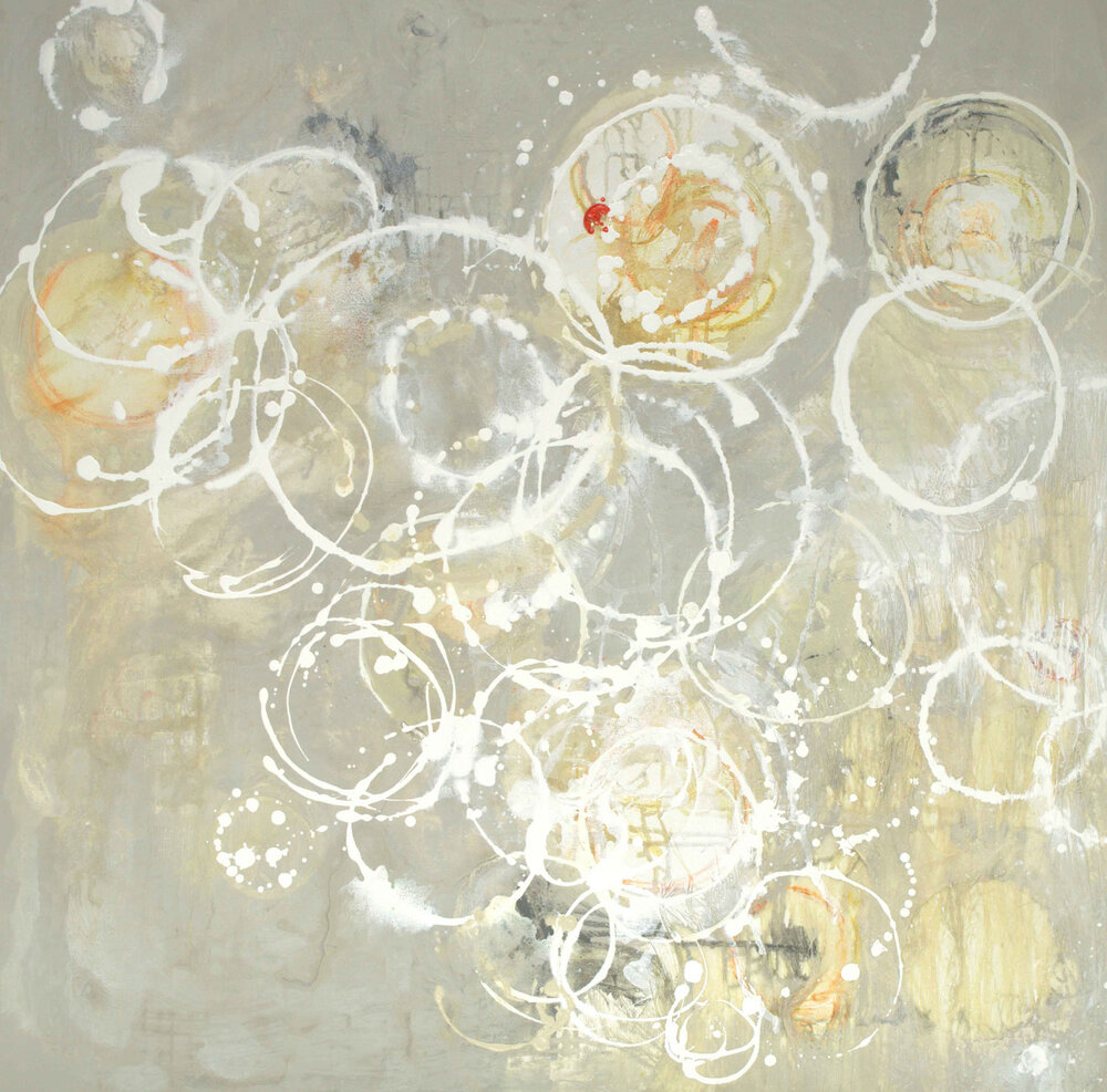 Champagne Soiree I - 36x36 - available