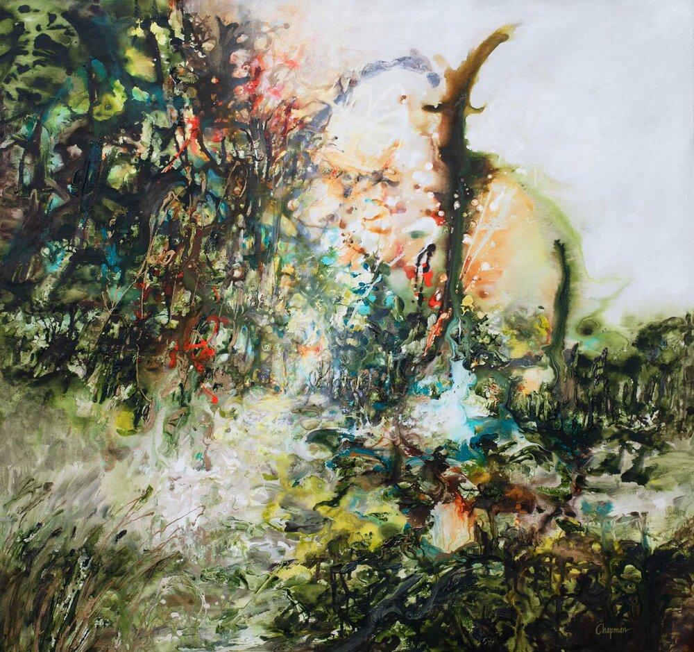 Joyous Dawn - 65 x 64