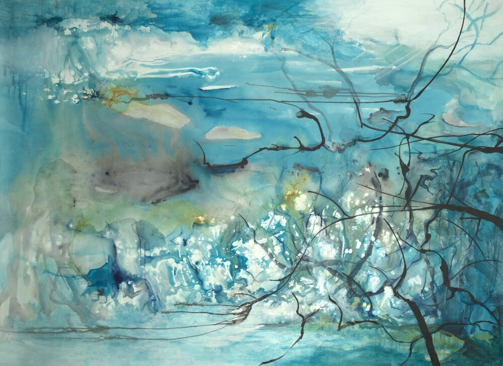 daybreak - 71x51 - sold