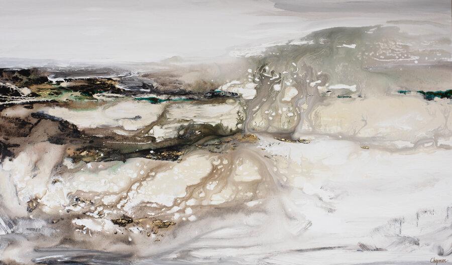 Dream of Coastal Waters - 36 x 60