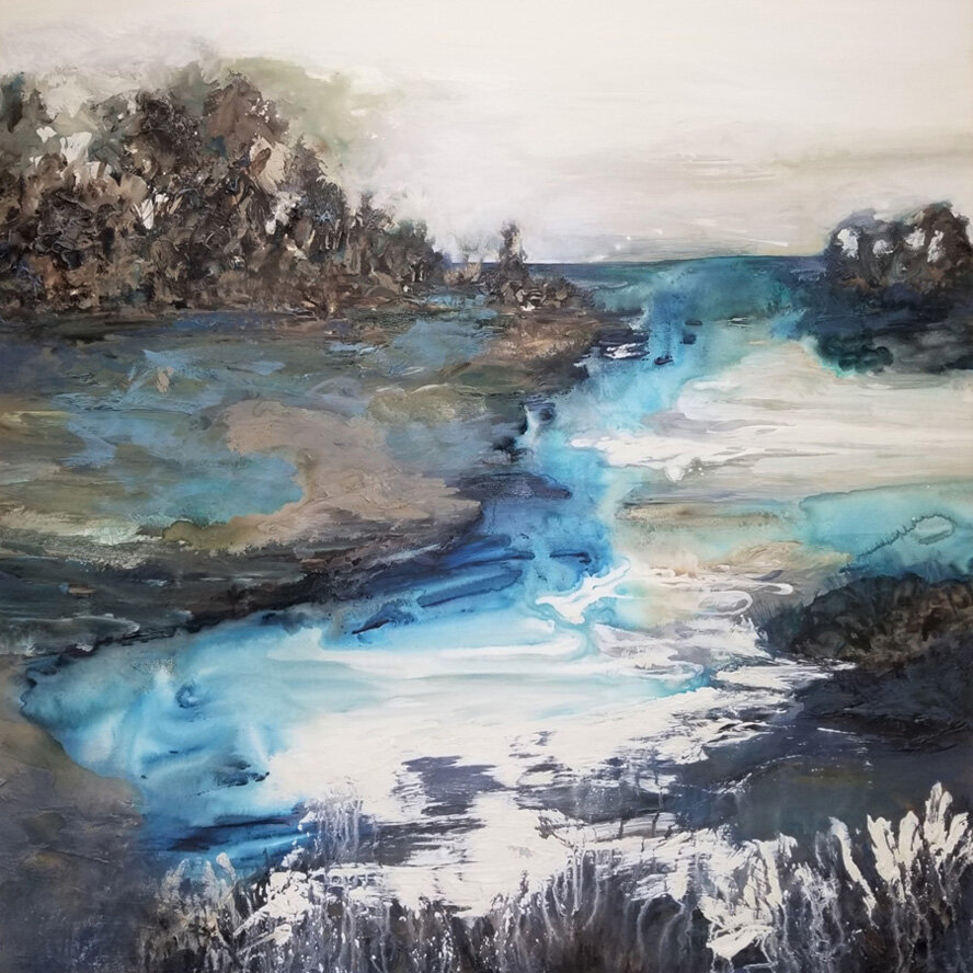Another Place and Time - 48x48 - available