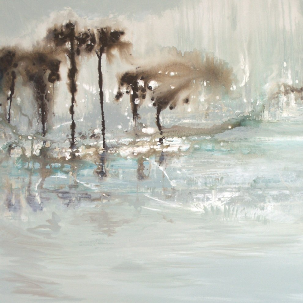 Beach Breezes - 47 x 42