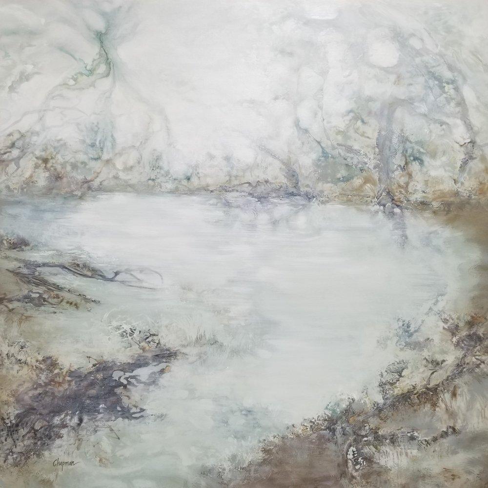 Shoreline Symphony - 64 x 64