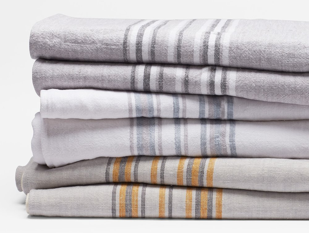 Linen - cotton blend blanket