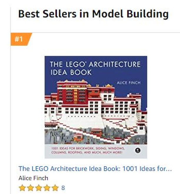 Happy New Year everyone! Hoping you get a chance to build something this holiday. And thank you to all who bought my new book and made it #1 in the model category on Amazon.  #legoarchitectureideabook  #lego #afol #legoarchitecture #womensbrickinitiative #wafol