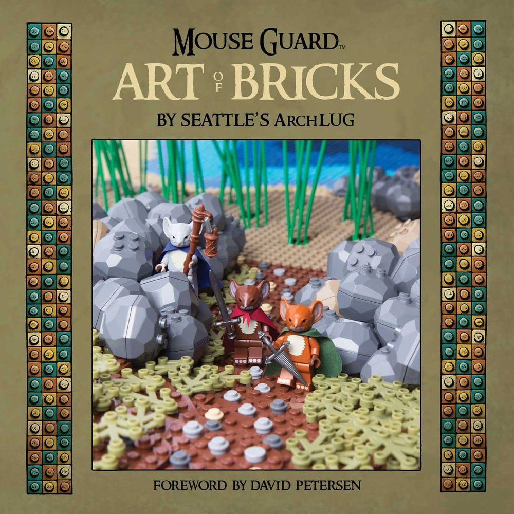 Mouse Guard Art of Bricks