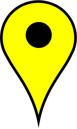 yellow map pin