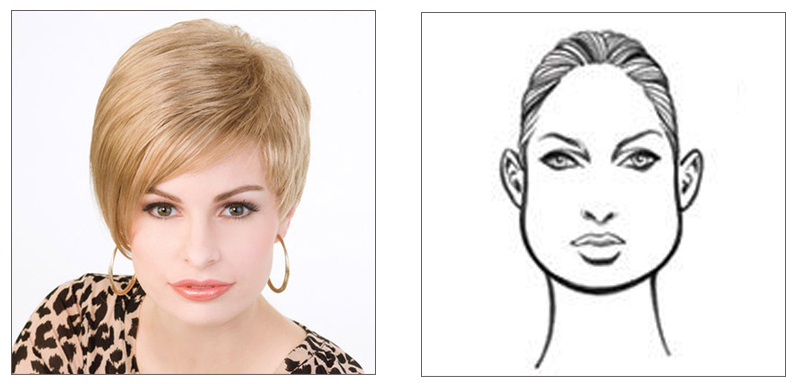 Pear Face Shape Featuring TABU WIG by PERFECT IMAGE