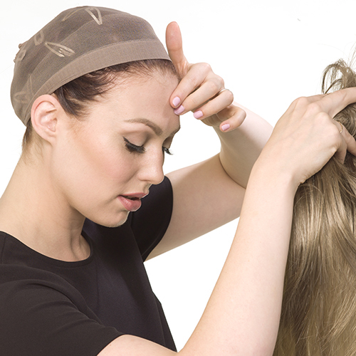 Image result for Users Guide: How to Put On a Wig