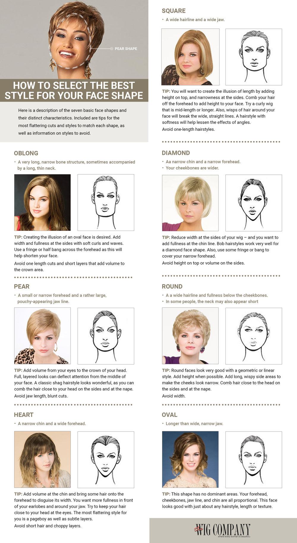 HD wallpapers best hair style for face shape