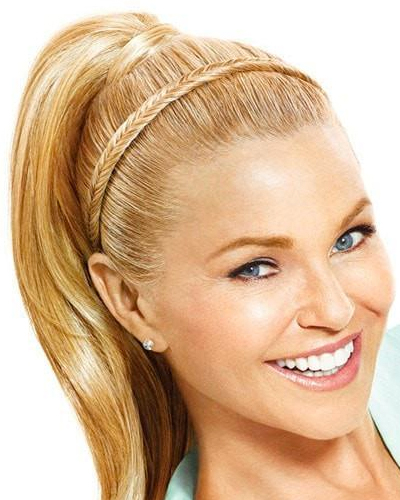 FISHTAIL HEADBAND by CHRISTIE BRINKLEY